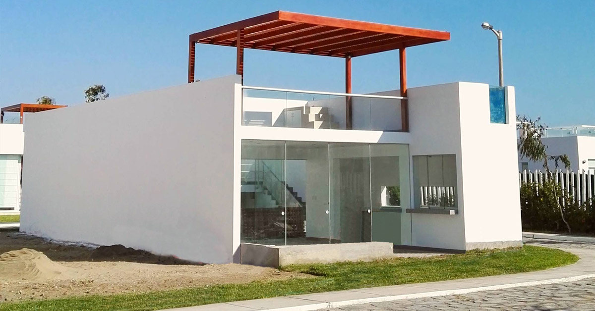 Dise o y construcci n casa de playa en chocalla for Diseno de casas de playa