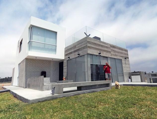 Dise o y construcci n casa de playa solimar - Construccion y diseno de casas ...