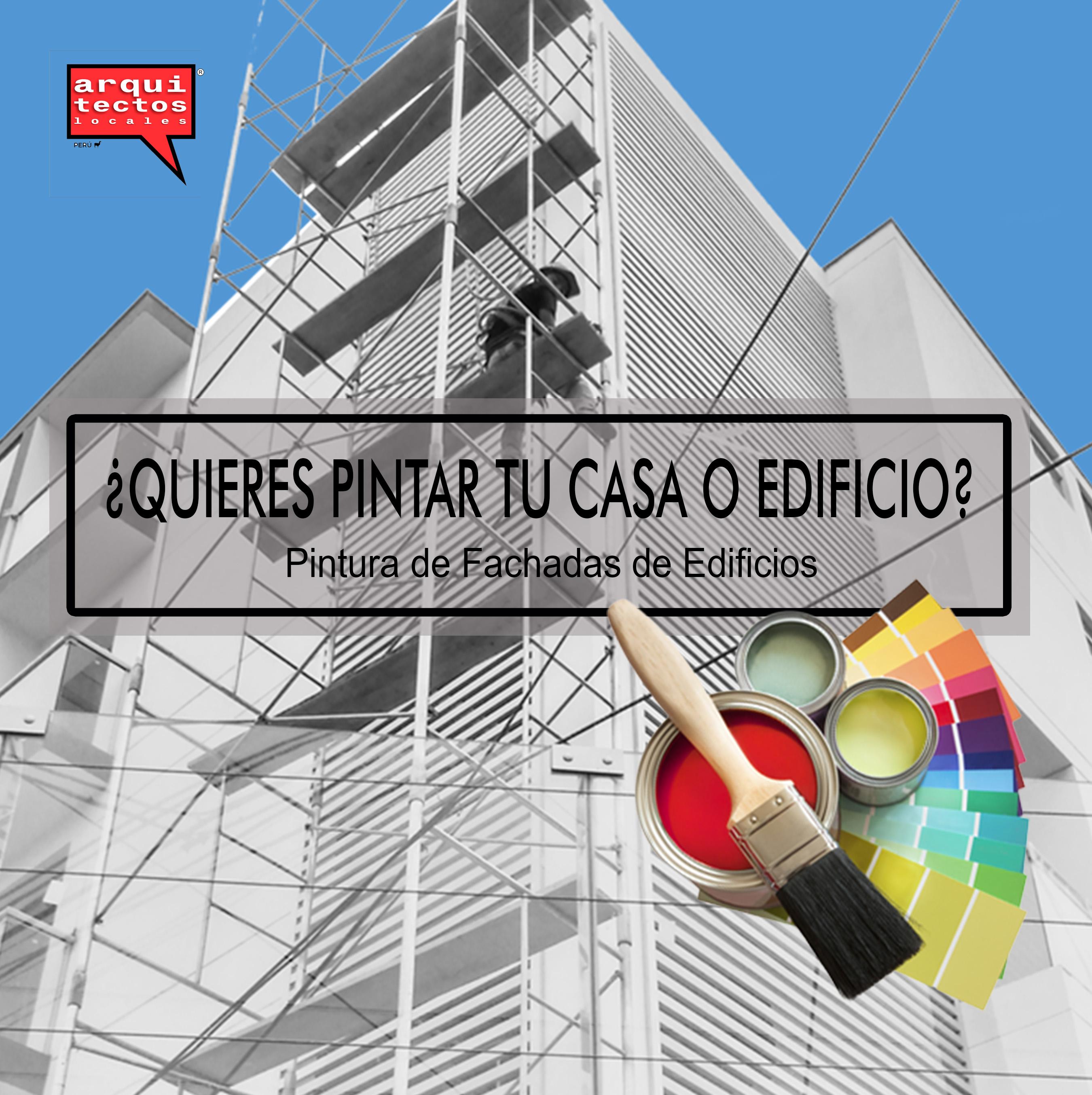 Pintura Fachadas de Edificios