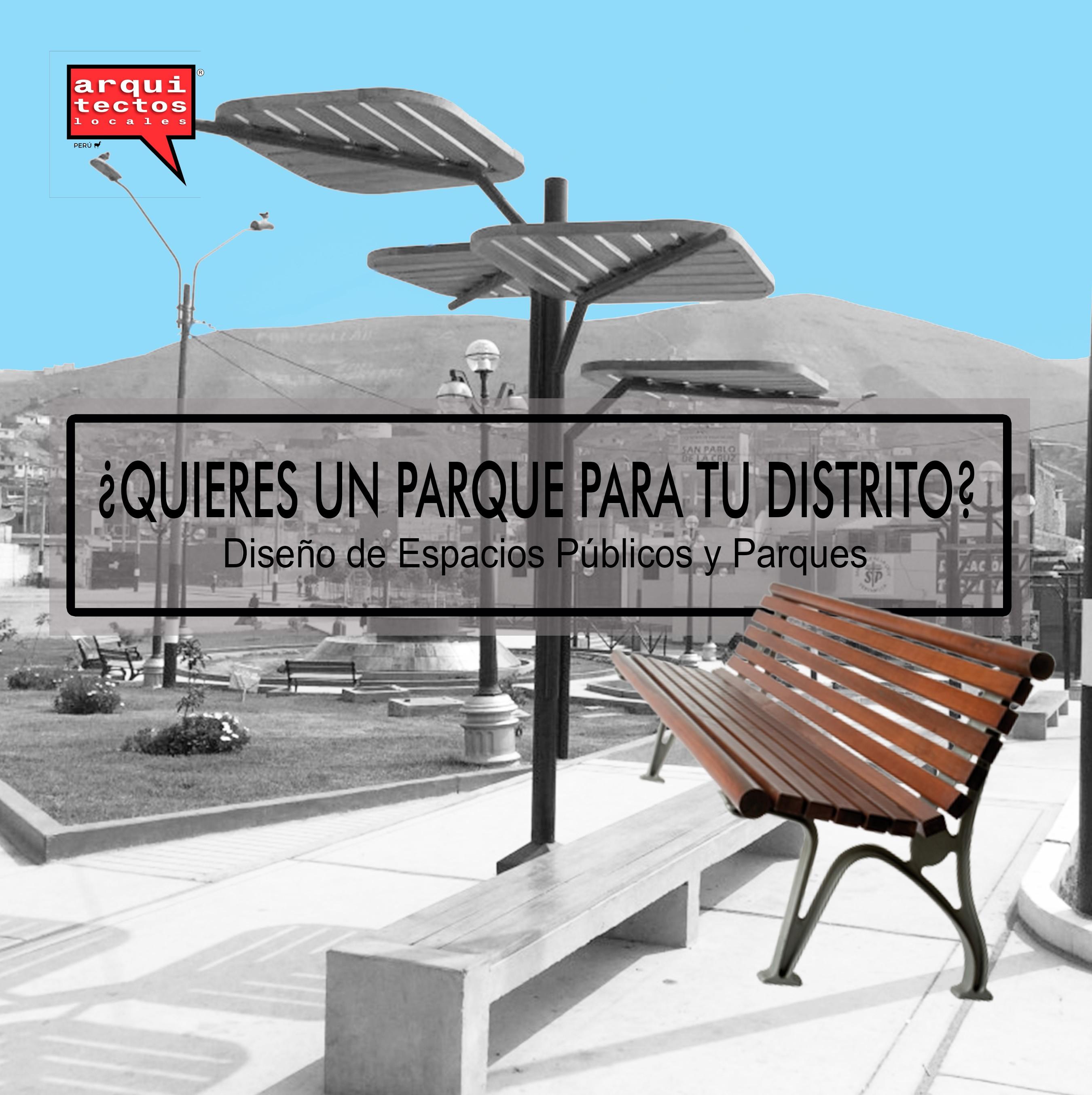 Diseño y expedientes técnicos de Parques Públicos